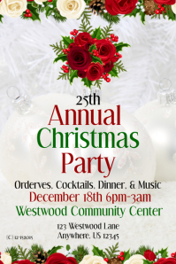 Annual Christmas Party Invite Template