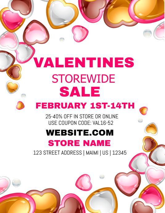 Valentine's Storewide Sales Event