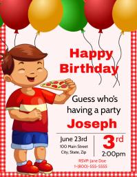 Birthday Pizza Party