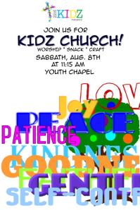 Children's Church Poster