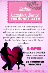 Father Daughter Dance Event Template