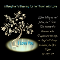 A Daughter's Blessing for a Vision Logo template