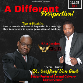 A Different Perspective Flyer