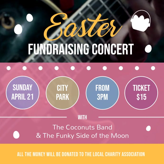 Easter Fundraising Concert Square Video