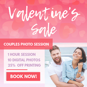 Valentine's Day Photography Discount Instagram