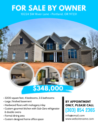a real estate flyer