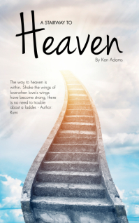 A Stairway to Heaven Book Cover Template Capa do Kindle