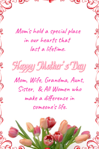 A Tribute To Mother's Day