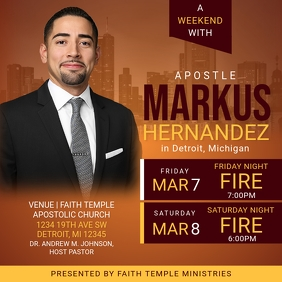 A Weekend with Apostle