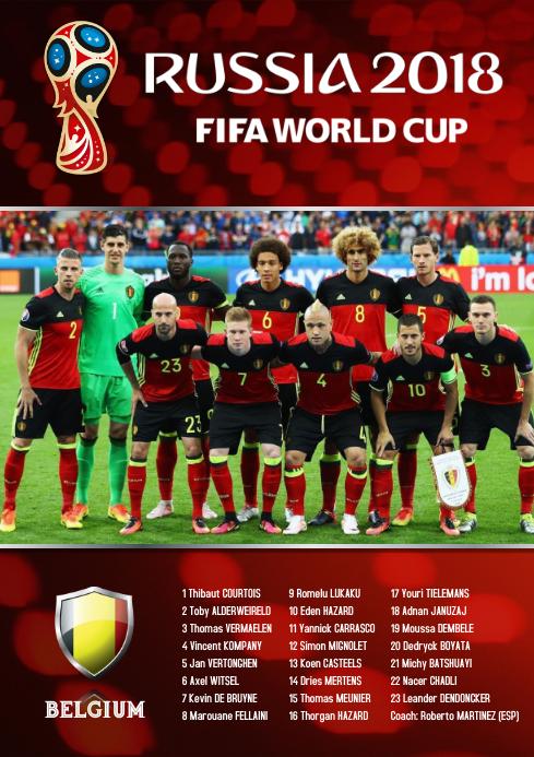 A2 Belgium Squad