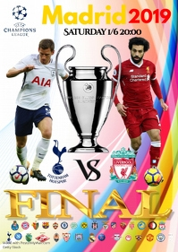 A2 Champions League Final poster