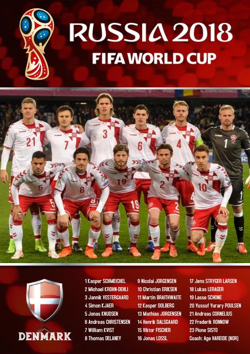 A2 Denmark Squad