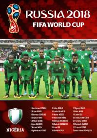 A2 Nigeria squad