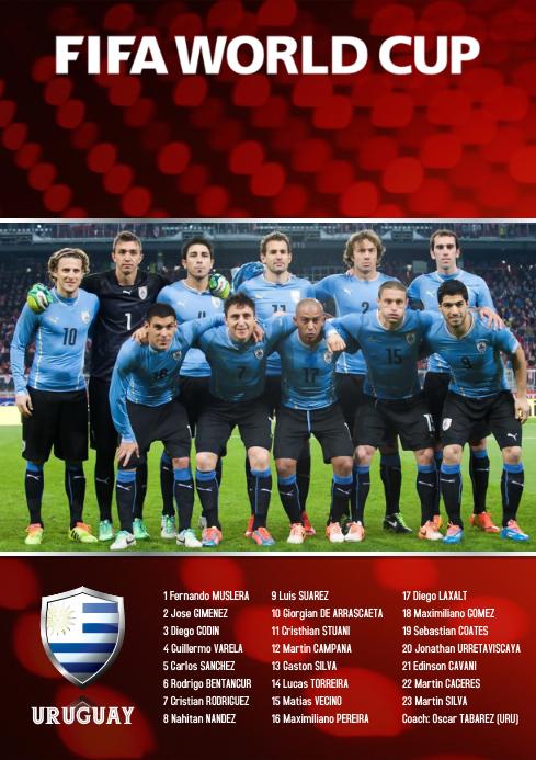 A2 Uruguay squad