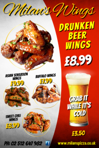 Milans wings poster