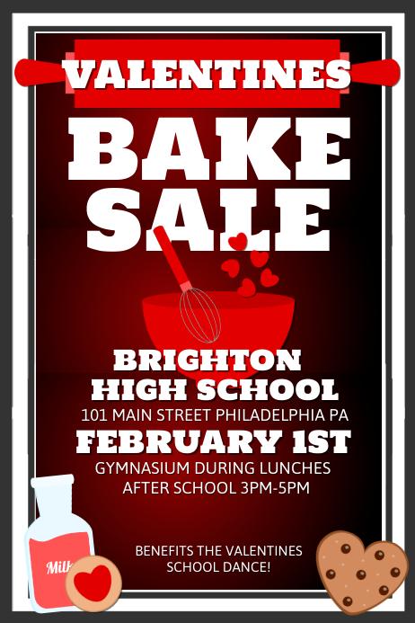 Valentines Bake Sale