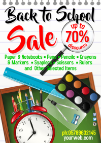 A3 Poster Back to School