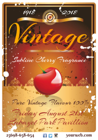 A3 Vintage Poster