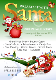 A4 Christmas Event Template