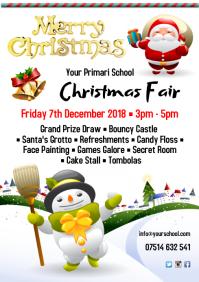 A4 Christmas Fair Poster