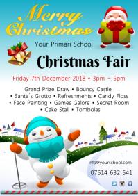 A4 Christmas Fair Template