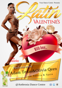 A4 Latin Valentine Poster