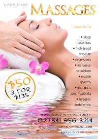 A4 Massages Flyer
