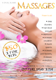 A4 Massages Flyer