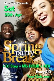 A4 Spring Break Poster
