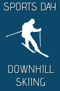 Sports Day Downhill Skiing