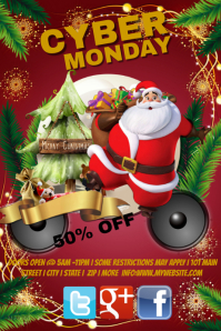 Cyber Monday Sales Event Template