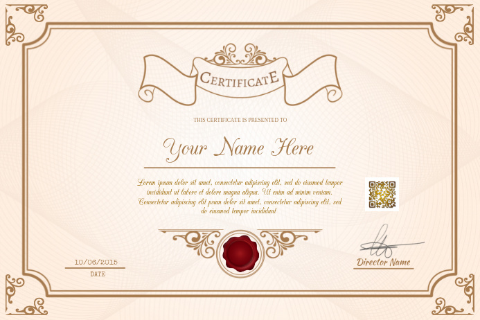 picture about Printable Certificates for Students identify Printable certificates template - For learners, educational facilities and