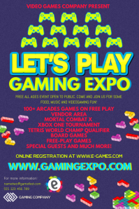 Gaming Event Posters