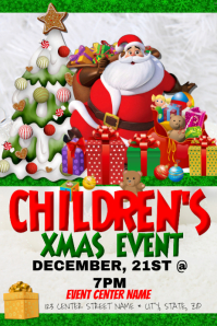 Children's Christmas Event Template