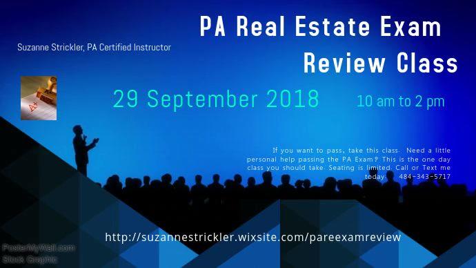 September 29 PA Exam Prep Class