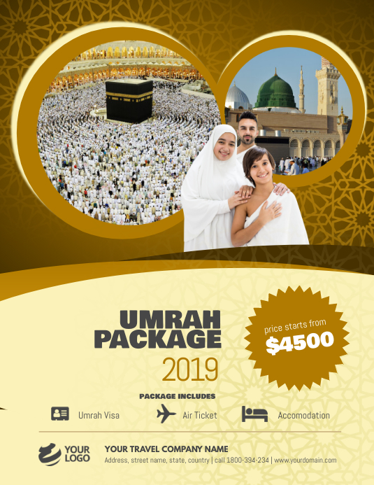 Copy of Ramadan Umrah Package Flyer Poster