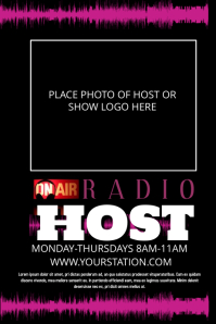 Radio Host Promo