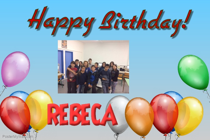 TO REBECA FROM GREECE