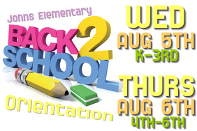 Back To School Orientation Poster