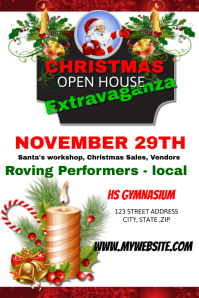 Christmas Open House template