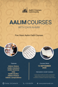 Aalim Courses Flyer Template