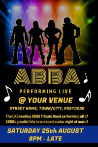 ABBA Tribute Poster