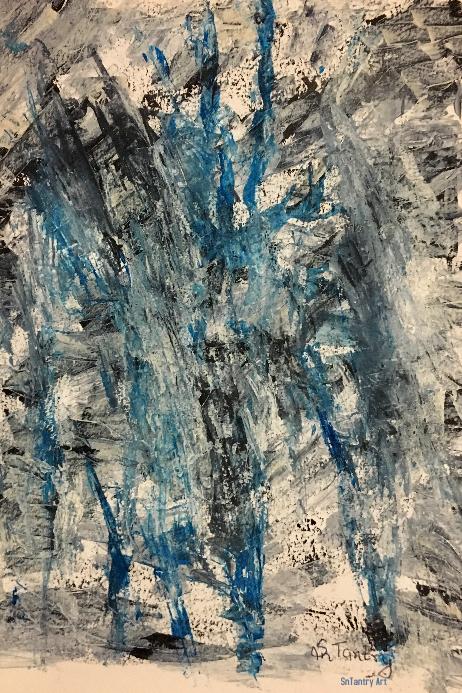 Abstract Art 1013-S