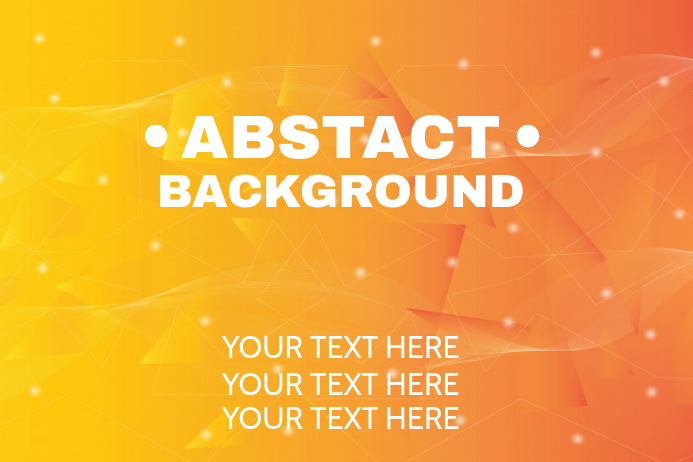 Abstract Background Template Postermywall