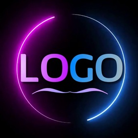 ABSTRACT CIRCLE LOGO SOCIAL MEDIA TEMPLATE Ilogo