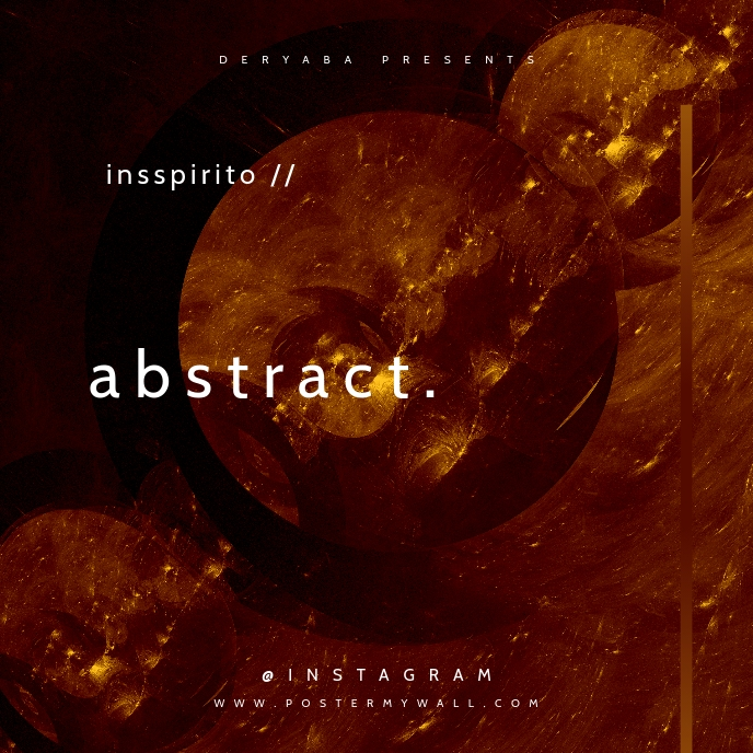 Abstract Fractal CD Cover Template