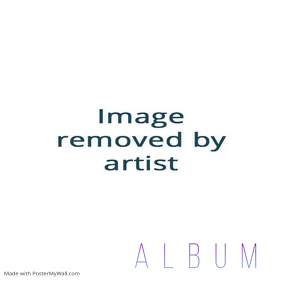 Abstract gradients neon album cover