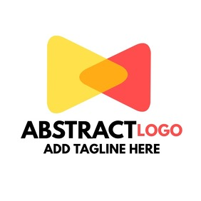 Abstract logo colorful design