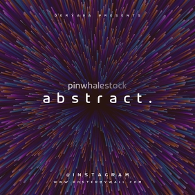 Abstract Music CD Cover Art