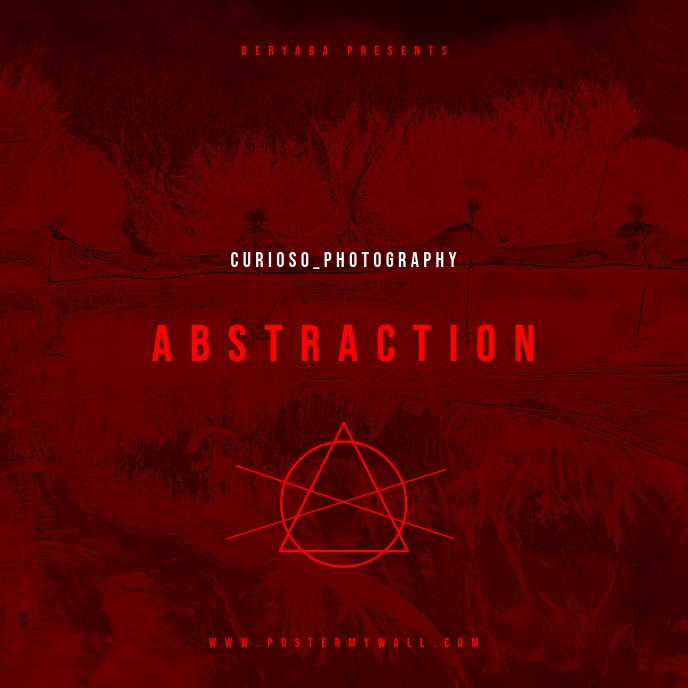 Abstraction CD Cover Template